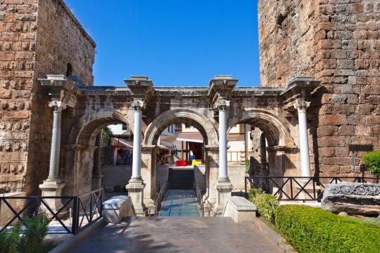 Türkische Riviera: Hadrianstor, Antalya
