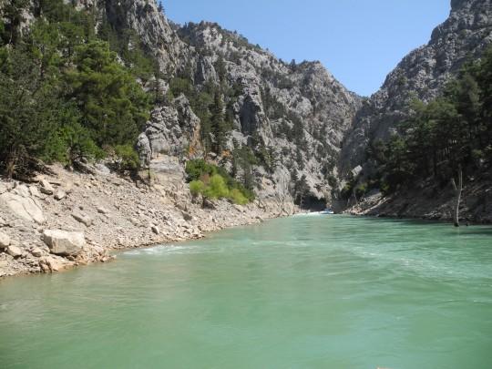 Türkische Riviera: Manavgat Fluss