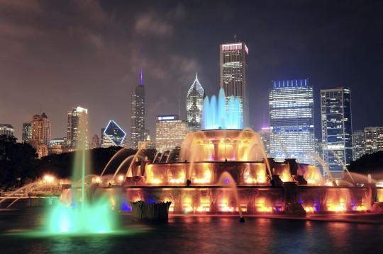 Chicago: Buckingham Brunnen