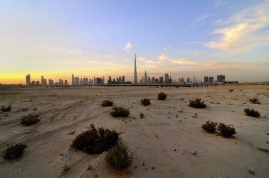 Dubai: Wüsten Skyline