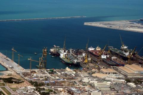 Dubai: Port Rashid