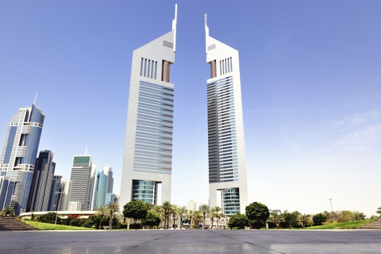 Dubai: Emirates Tower