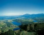 Klopeiner See: Luftaufnahme
