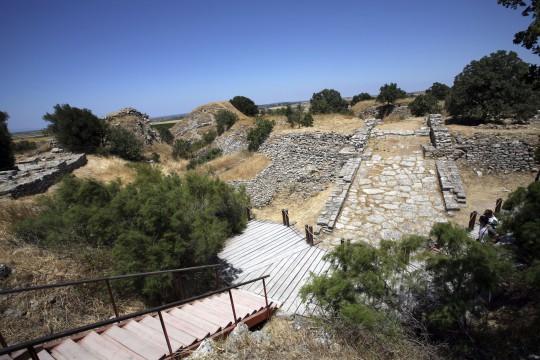 Türkische Ägäis: Troja