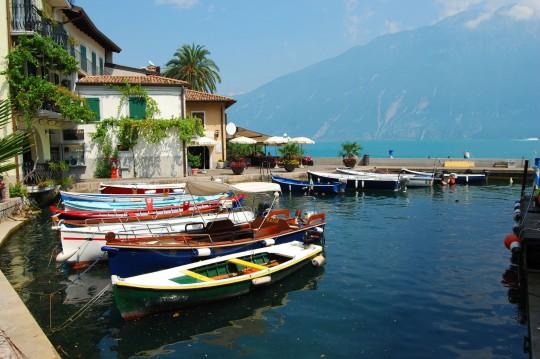 Limone Sul Garda: Hafen