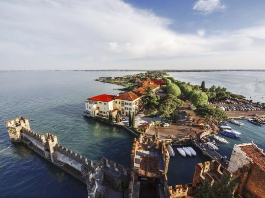 Gardasee: Sirmione - Skaligerkastell