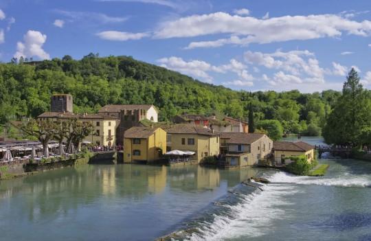 Gardasee: Borghetto di Valeggio sul Mincio