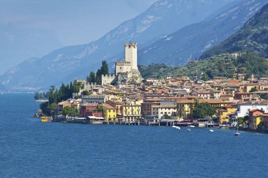 Gardasee: Castello di Malcesine