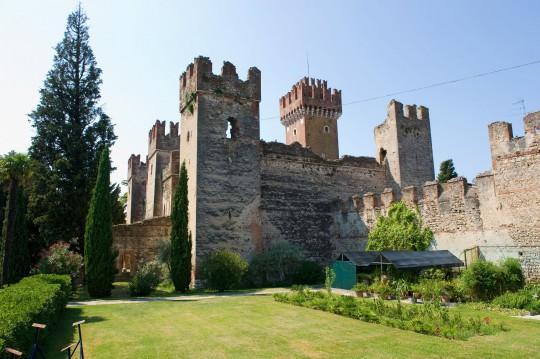 Gardasee: Lazise - Burg