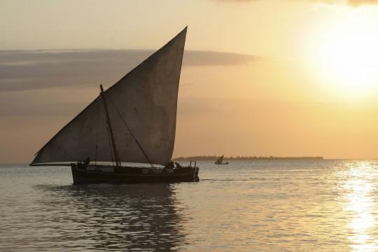 Kenianische Küste: Dhau Hafen