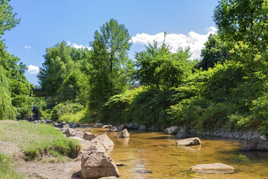 Baden-Baden: Gebirgsfluss