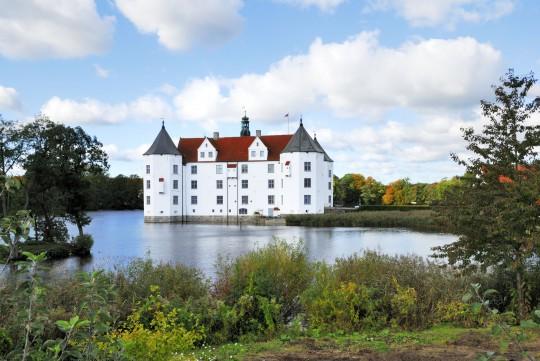 Ostsee (SH): Wasserschloss Glücksburg