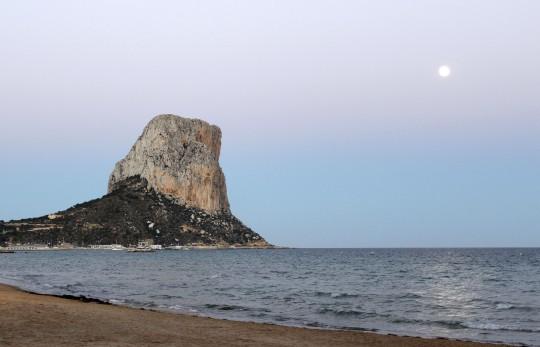 Costa Blanca: Peñón de Ifach