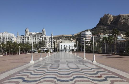 Costa Blanca: Explanada de España