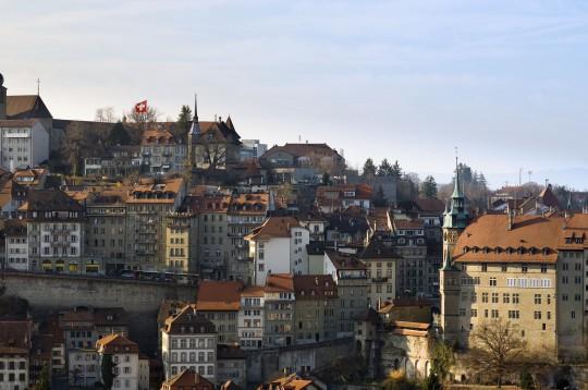 Schweiz (Westen): Fribourg