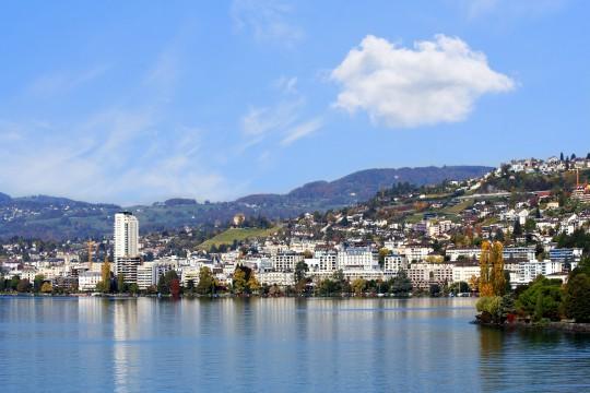 Schweiz (Westen): Montreux