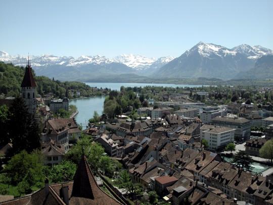 Schweiz (Westen): Thun