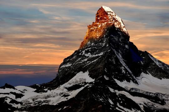 Schweiz (Westen): Matterhorn