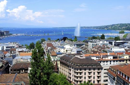 Schweiz (Westen): Genf