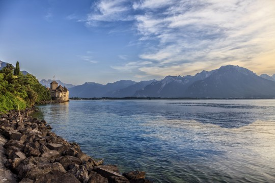 Schweiz (Westen): Genfersee