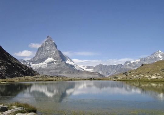 Schweiz (Westen): Riffelsee