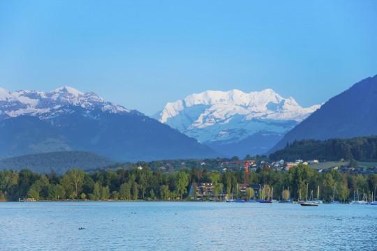 Schweiz (Westen): Thunersee