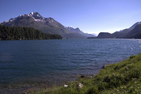 Ostschweiz: Silvaplanersee