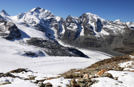 Ostschweiz: Das Engadin-Gebirge