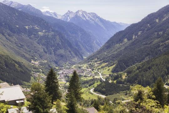 Ostschweiz: San Bernardino -Region