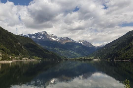 Ostschweiz: Puschlaversee / Lago di Poschiavo