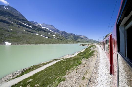 Ostschweiz: Lago Bianco