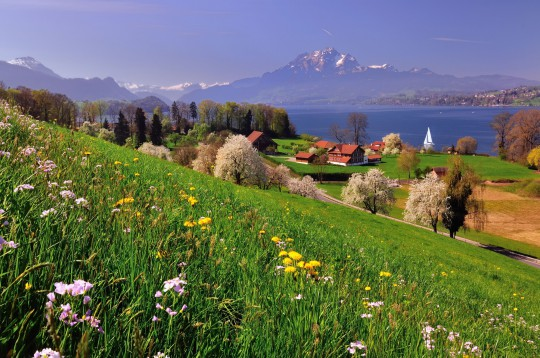 Zentralschweiz: Landschaft
