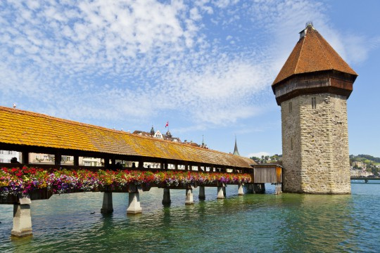 Zentralschweiz: Kapellbrücke