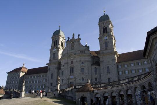 Zentralschweiz: Kloster Einsiedeln