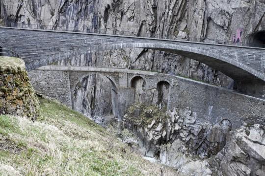 Zentralschweiz: Teufelsbrücke