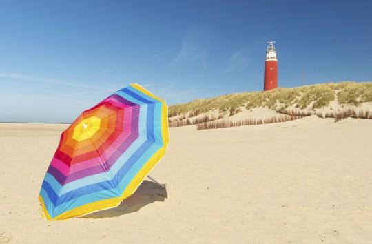 Niederlande (Nordsee): Insel Texel - Leuchtturm