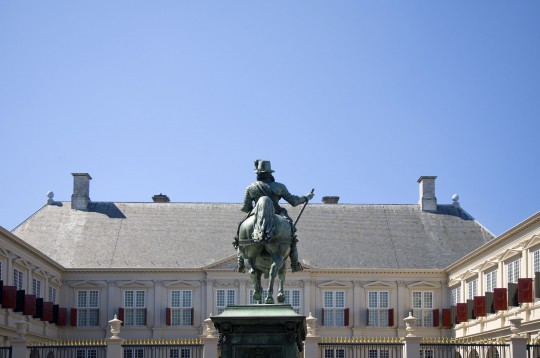 Niederlande (Nordsee: Den Haag - Palast Noordeinde