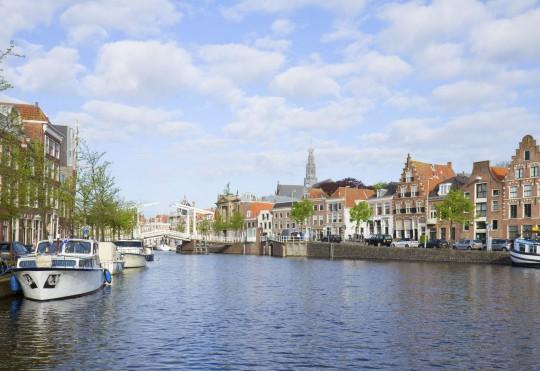 Niederlande (Nordsee): Haarlem - Kanalfahrt