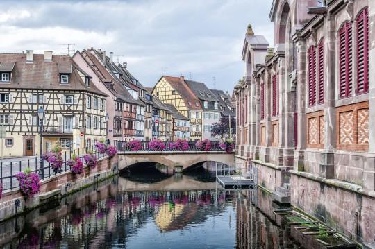 Frankreichs Osten: Kanal in Straßburg