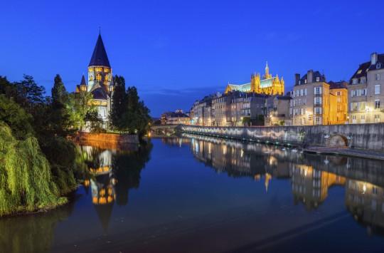 Frankreichs Osten: Blick auf Metz