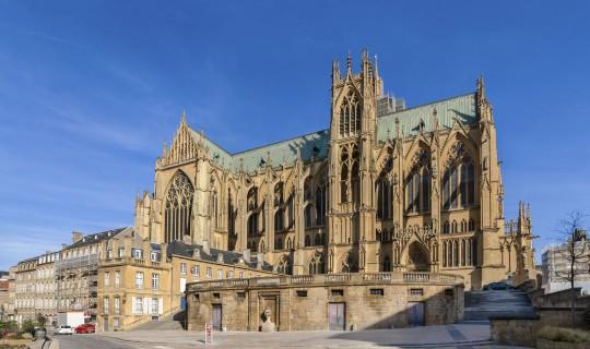 Frankreichs Osten: Kathedrale Saint-Étienne, Metz