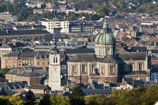 Belgien (Ardennen): St. Aubin Kathedrale