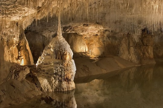 Die Grotte von Han
