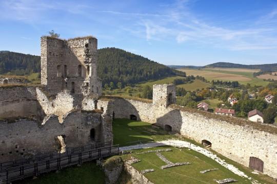 Böhmerwald: Burg Rabí