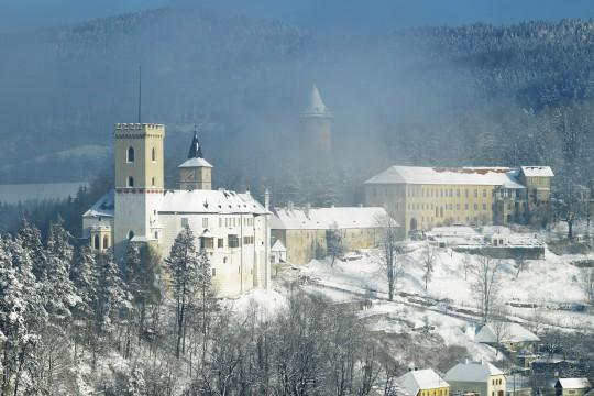 Böhmerwald: Rožmberk nad Vltavou (Rosenberg & Burg