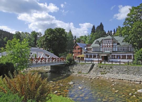 Riesengebirge: Špindlerův Mlýn (Spindlermühle)