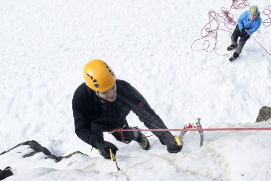 Klettern (Symbolbild)