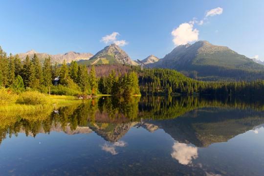 Slowakei (Tatra): Štrbské Pleso