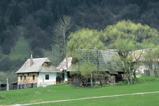 Slowakei (Tatra): Museumsdorf Vlkolinec