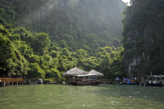 Ha Long Bucht: Boot